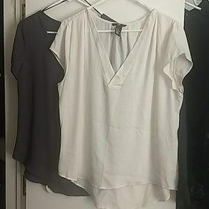 Both Dress Shirts